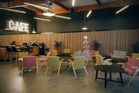 Salle d'attente lounge de Qarson