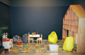 Espace jeux pour enfant chez Qarson