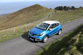 Renault Captur vue du dessus