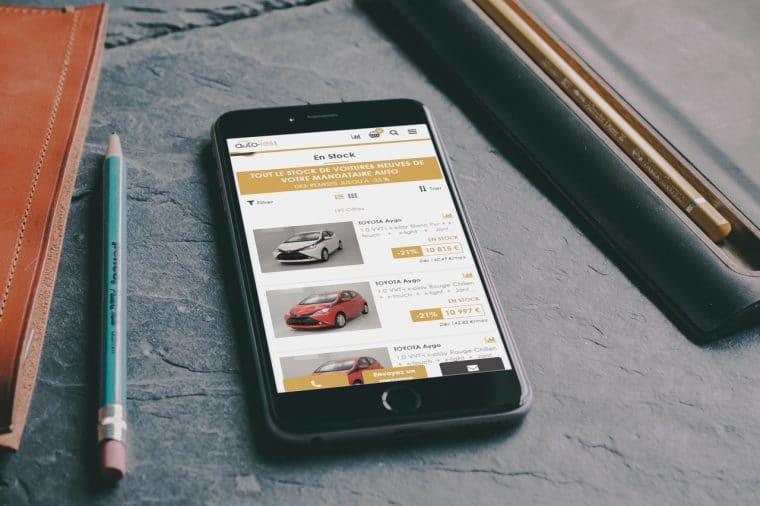 Responsive et achat en ligne sur auto-ies.com