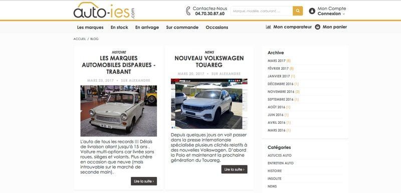 Le blog Auto-IES