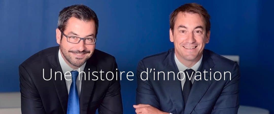 Guillaume Paoli et Nicolas Chartier fondateurs d'Aramisauto