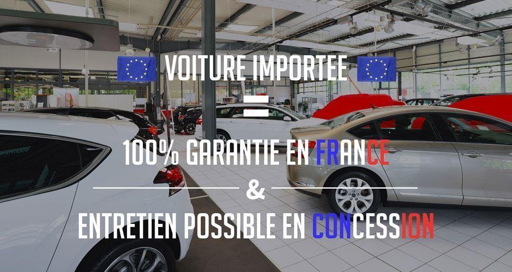 Garantie voiture étrangère 100% valable en France