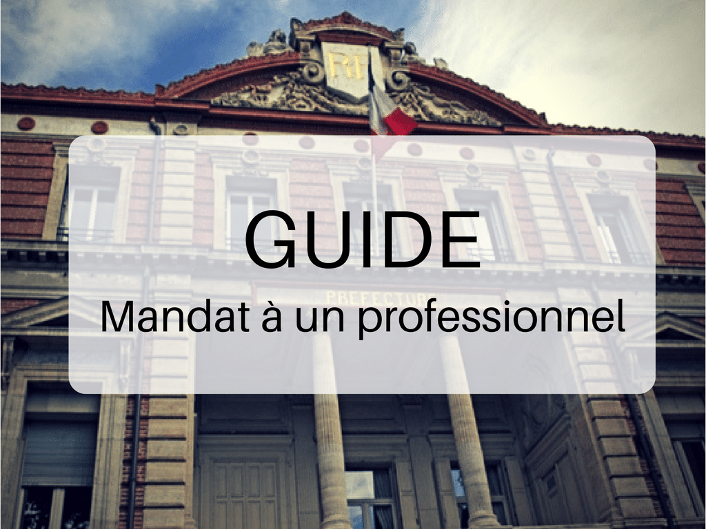 Guide Caroom Mandat à un professionnel