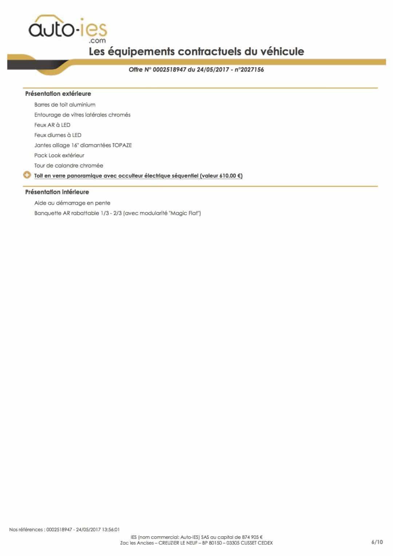 équipements contractuels voiture : préparation intérieure et extérieure