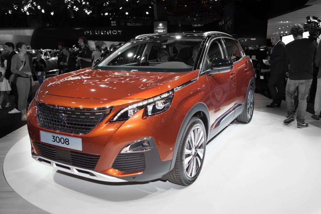 Peugeot 3008 au Mondial de Paris
