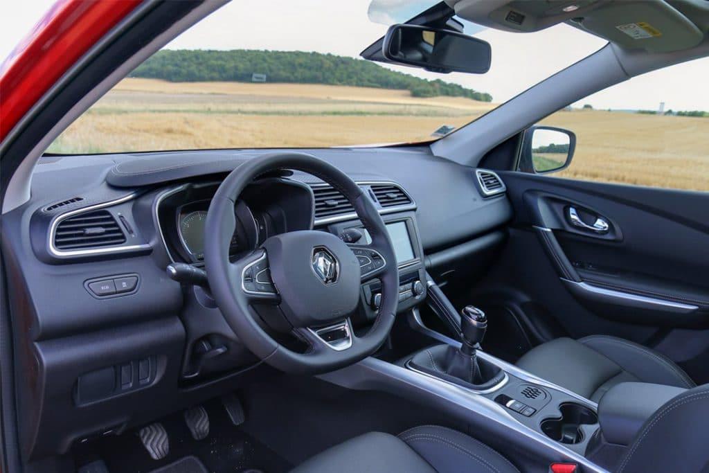 intérieur du Renault Kadjar