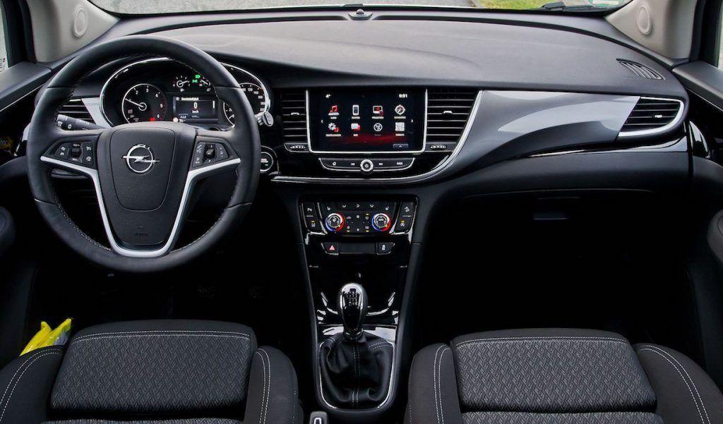 Intérieur de l'Opel Mokka X