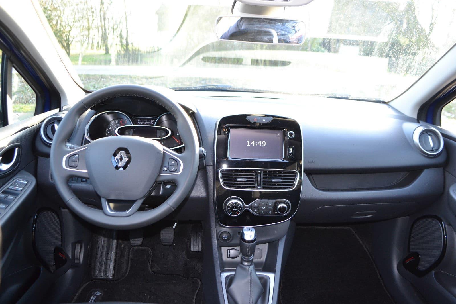 Intérieur de la Renault Clio Limited