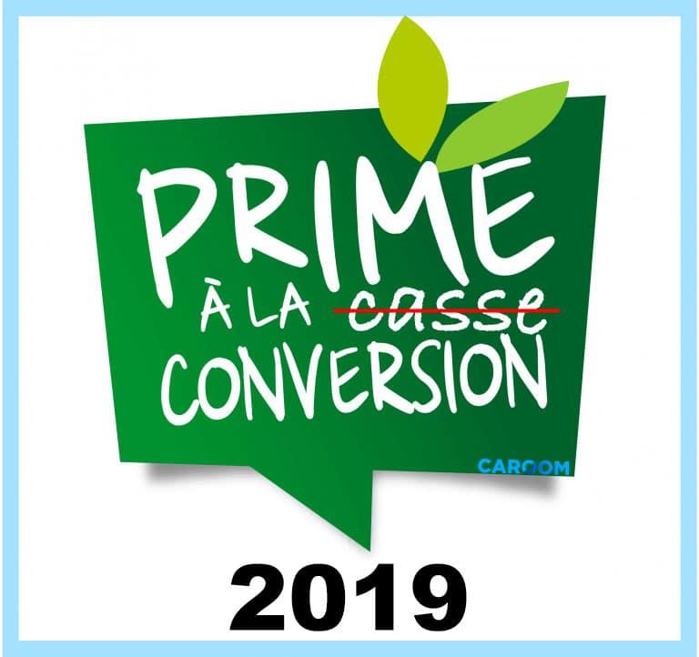 Prime à la conversion, prime à la casse 2019