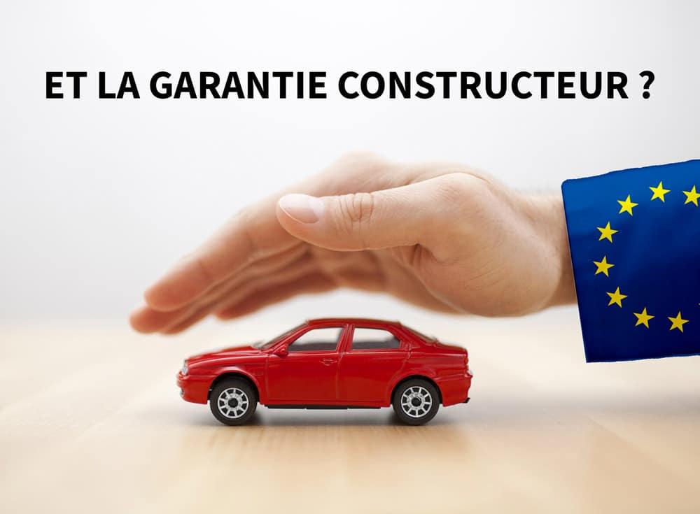 La garantie constructeur est valable dans toute l'Europe