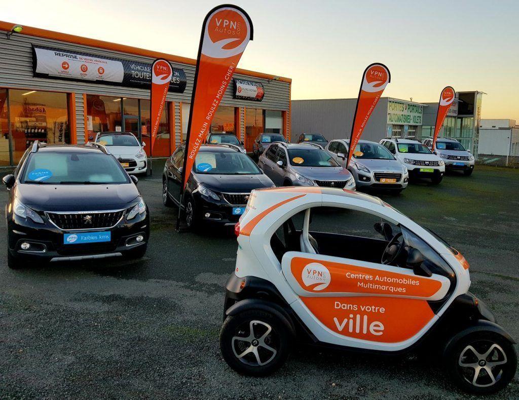 Le point de vente de VPN Autos Poitiers