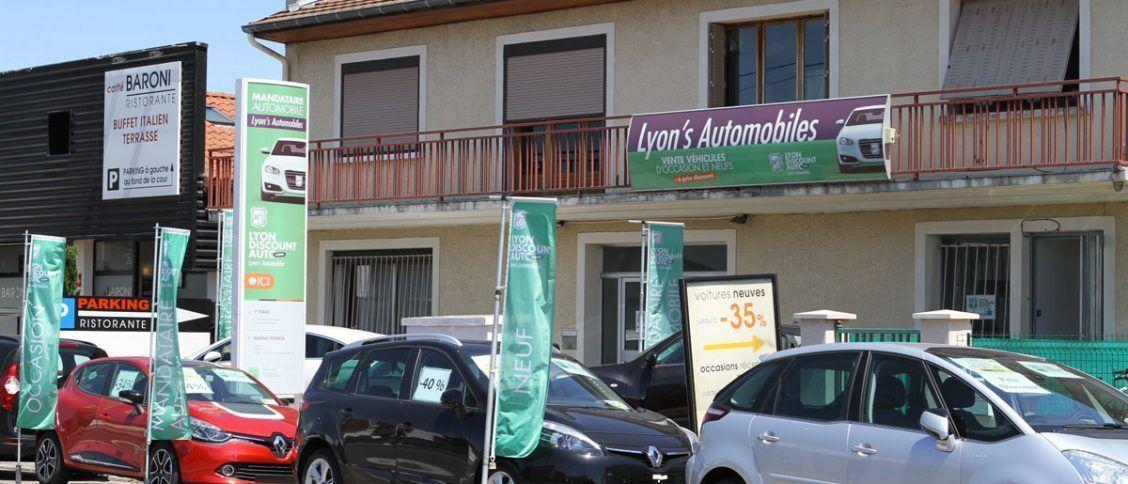 Les locaux du mandataire Lyon's Automobiles