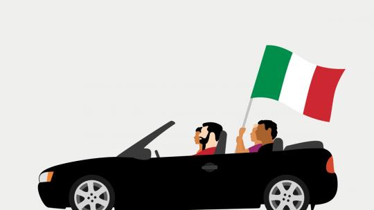 Les sites d'annonce auto en Italie.