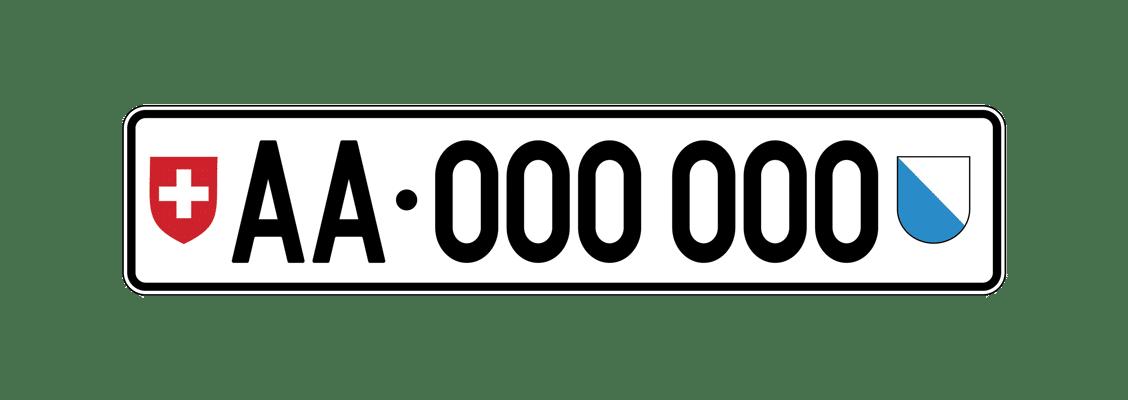 Plaque d'exportation Suisse : immatriculer une voiture ...