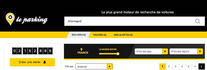 Leparking.fr propose une large sélection d'annonces de véhicules allemands à vendre.