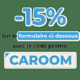 Bénéficiez de -15% de réduction sur le changement d'adresse de votre carte grise avec le code Caroom.