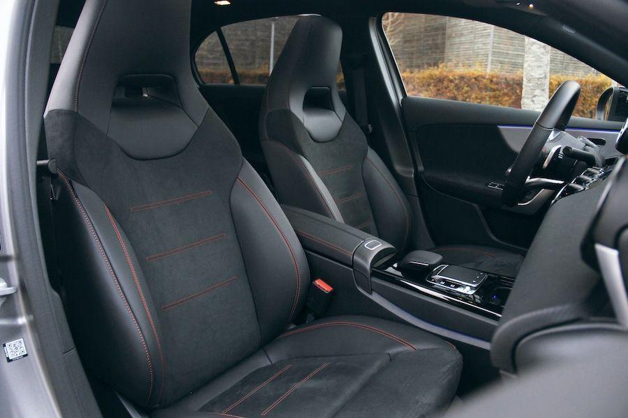Les sièges AMG de la Mercedes Classe A