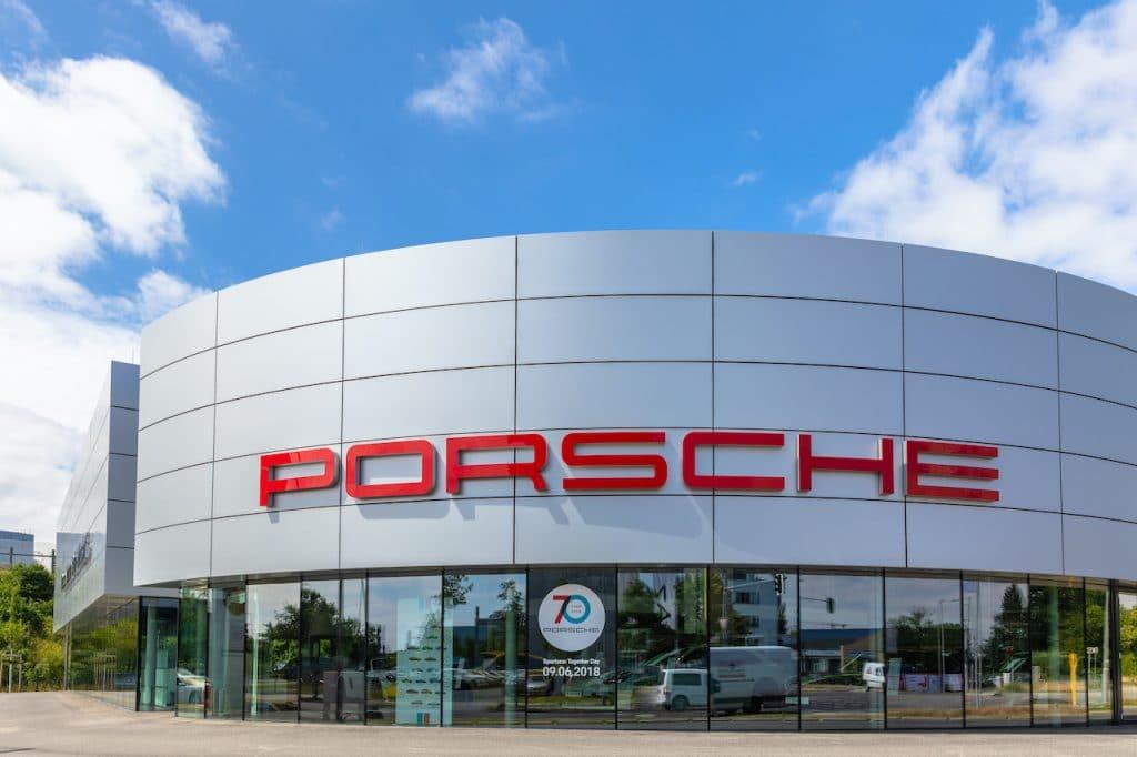 Un Centre Porsche en Allemagne