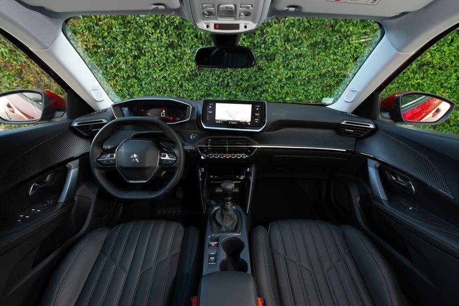 L'intérieur de la nouvelle Peugeot 2008