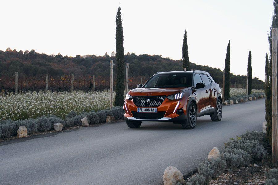 Le profil dynamique de la Peugeot 2008