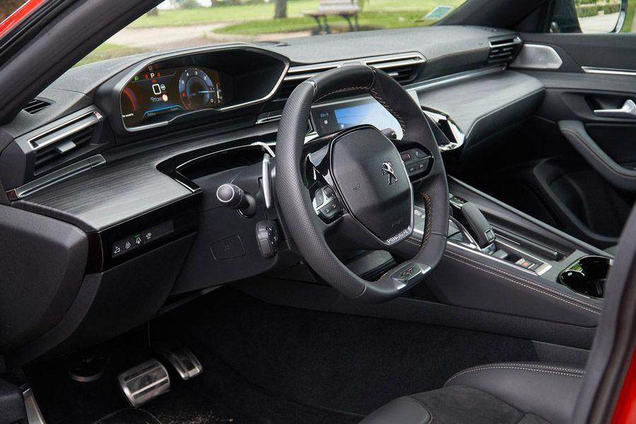L'intérieur de la Peugeot 508