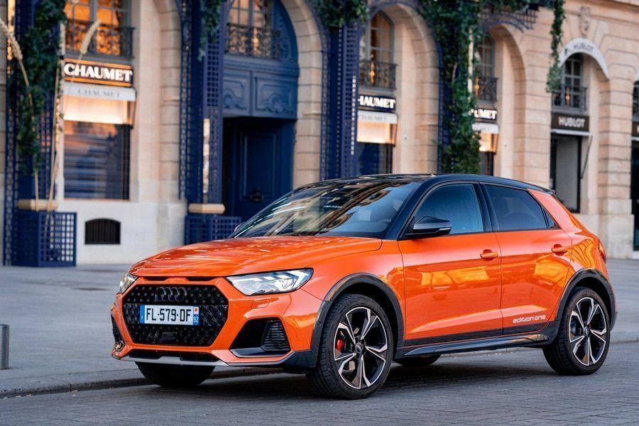 Face avant de l'Audi A1 citycarver