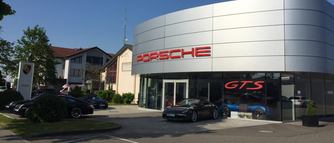 Un Centre Porsche (CP) en Allemagne