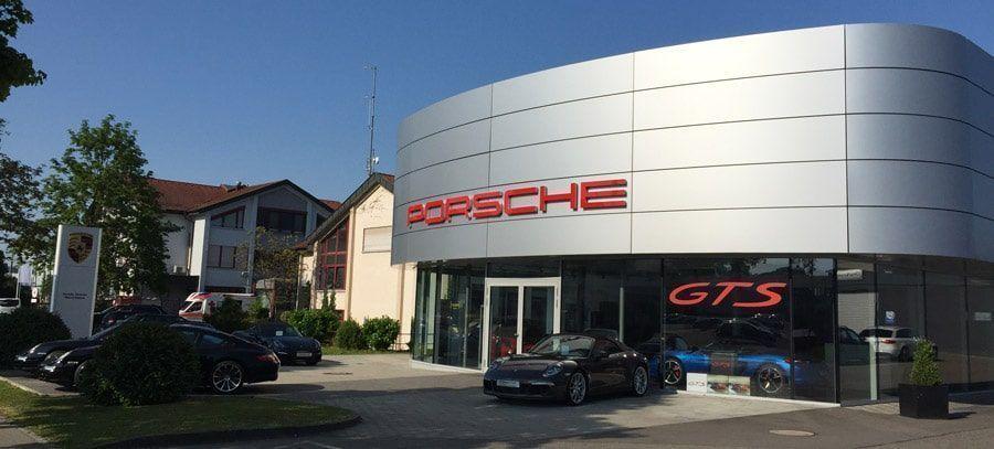 Un Centre Porsche (CP) se trouvant en Allemagne