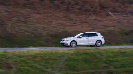 Essai de la Volkswagen Golf 8