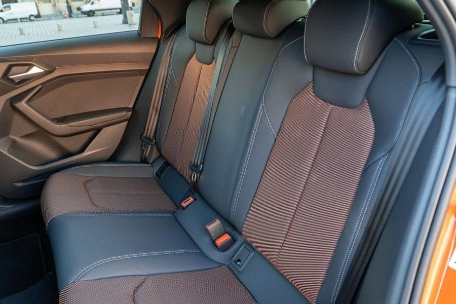 L'intérieur de l'Audi A1 citycarver