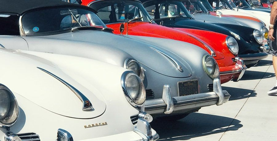 Des Porsche de collection