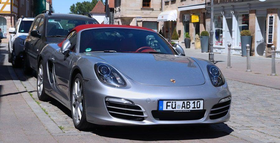 Une Porsche vendue par un particulier