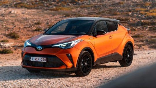 Essai du Toyota C-HR