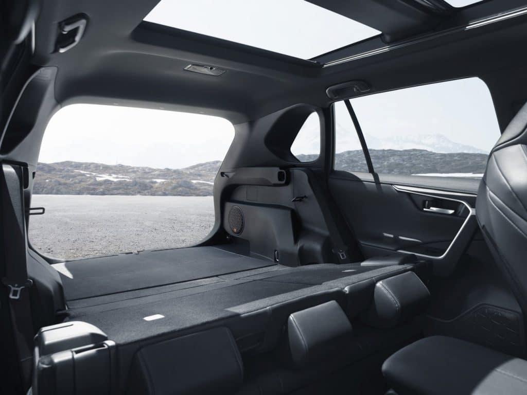 Volume du coffre du Toyota RAV4