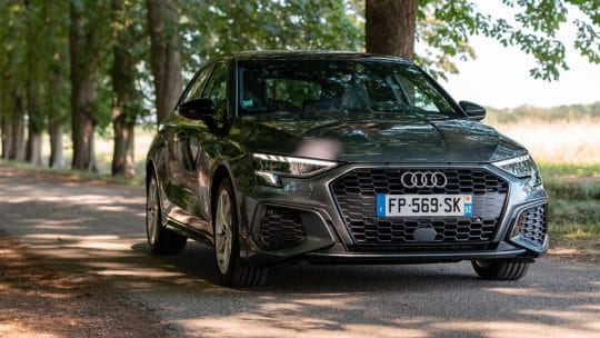 Essai de l'Audi A3 Sportback