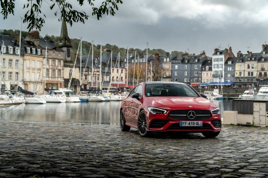 Test du Mercedes CLA