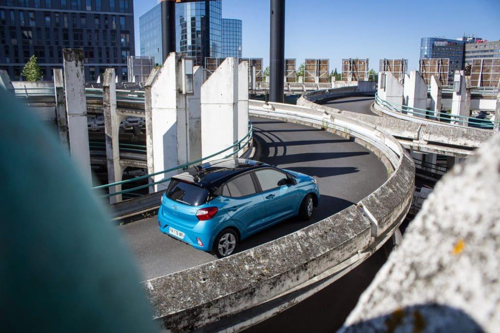 Essai en conduite sur route de la Hyundai i10