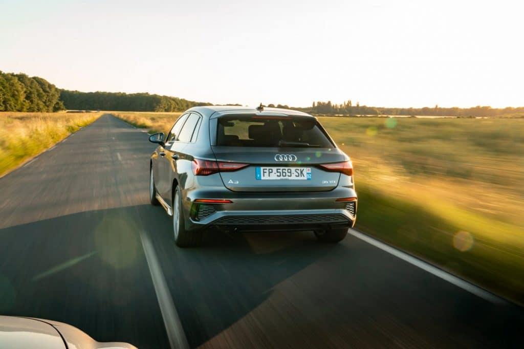 Essai sur route de l'Audi A3 Sportback