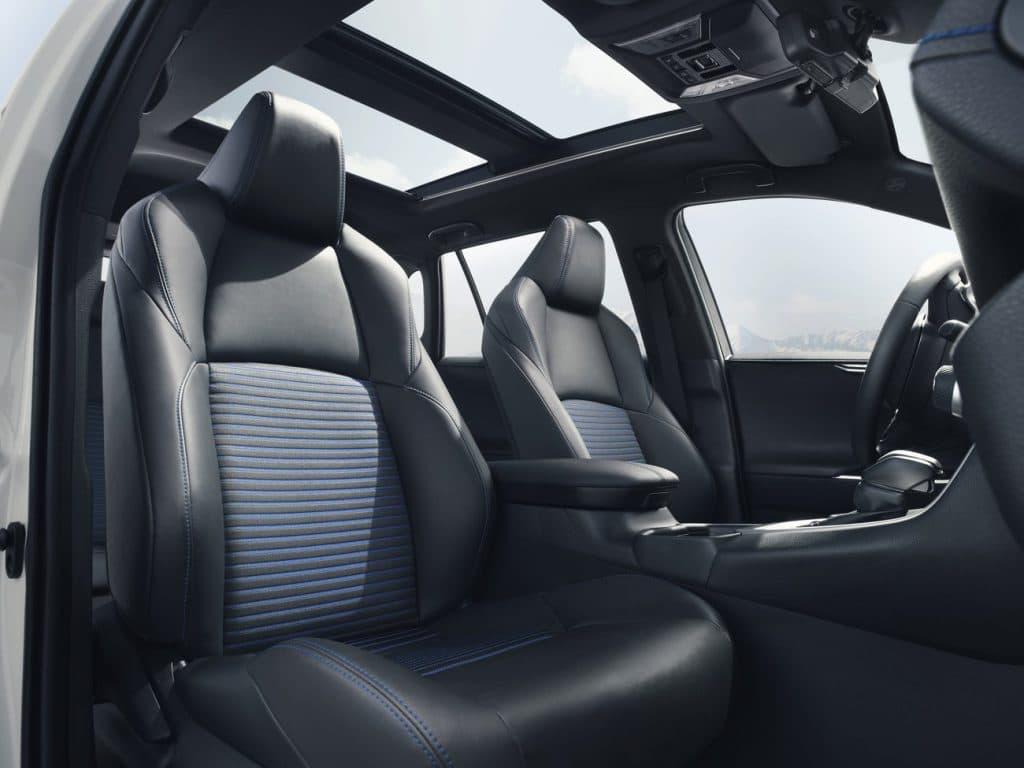 Les sièges du Toyota RAV4