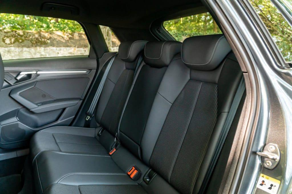 Les sièges arrières de l'A3 Sportback
