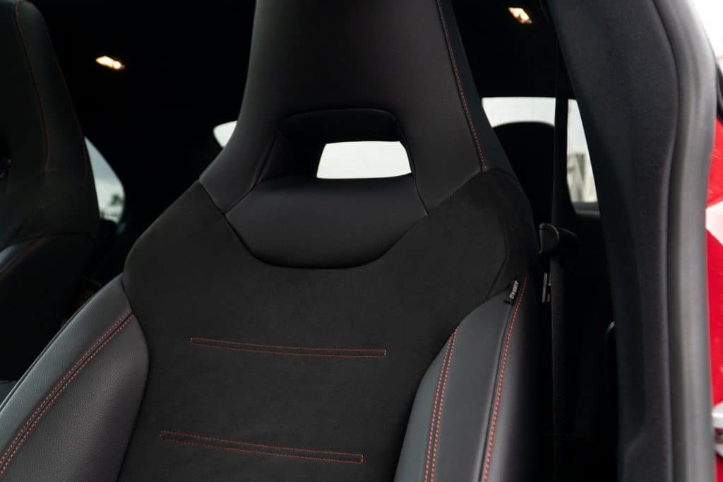 Les sièges du Mercedes CLA AMG Line