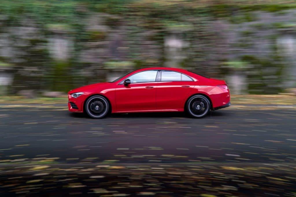 Test de conduite du Mercedes CLA
