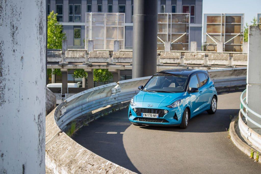Le test Hyundai i10 en roulant