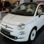 Citadine découvrable Fiat 500C