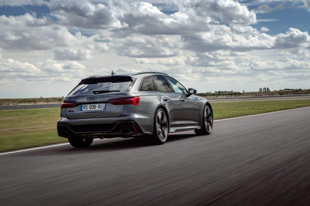 Essai sur route de l'Audi RS6