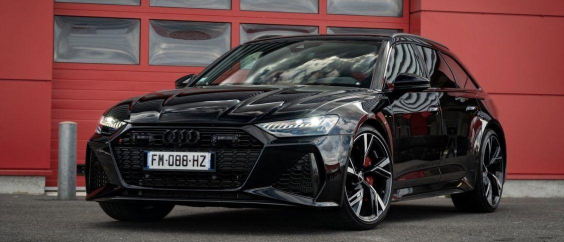 Test auto de l'Audi RS6 Avant