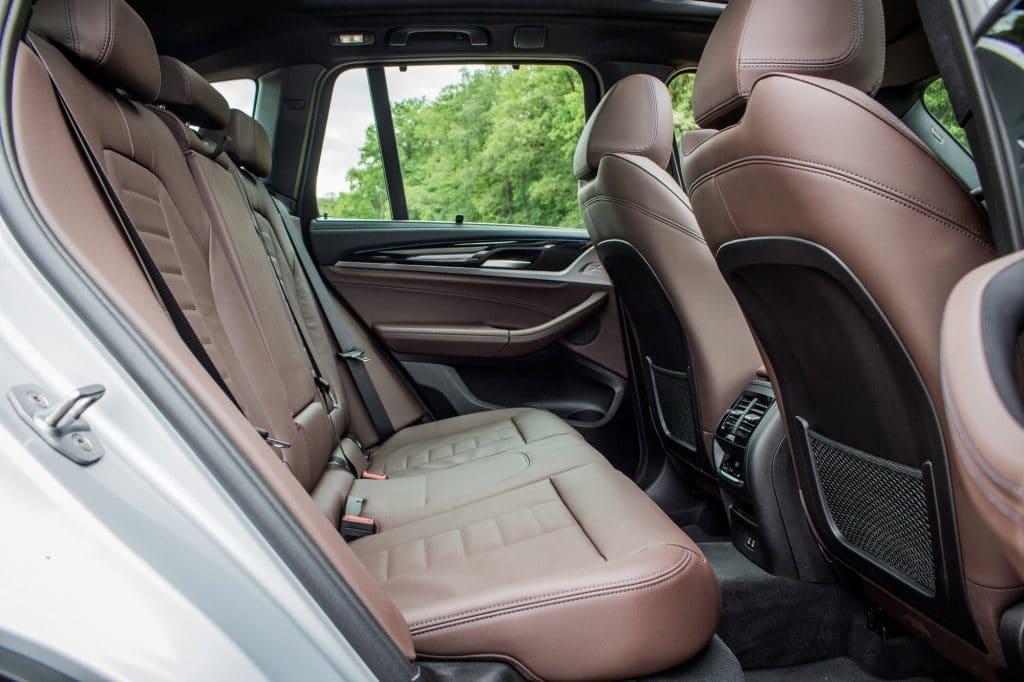Banquette arrière du BMW X3 xDrive 30e