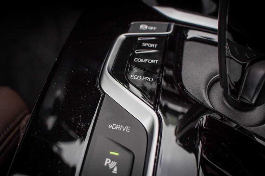 Boîte de vitesse du BMW X3 xDrive 30e