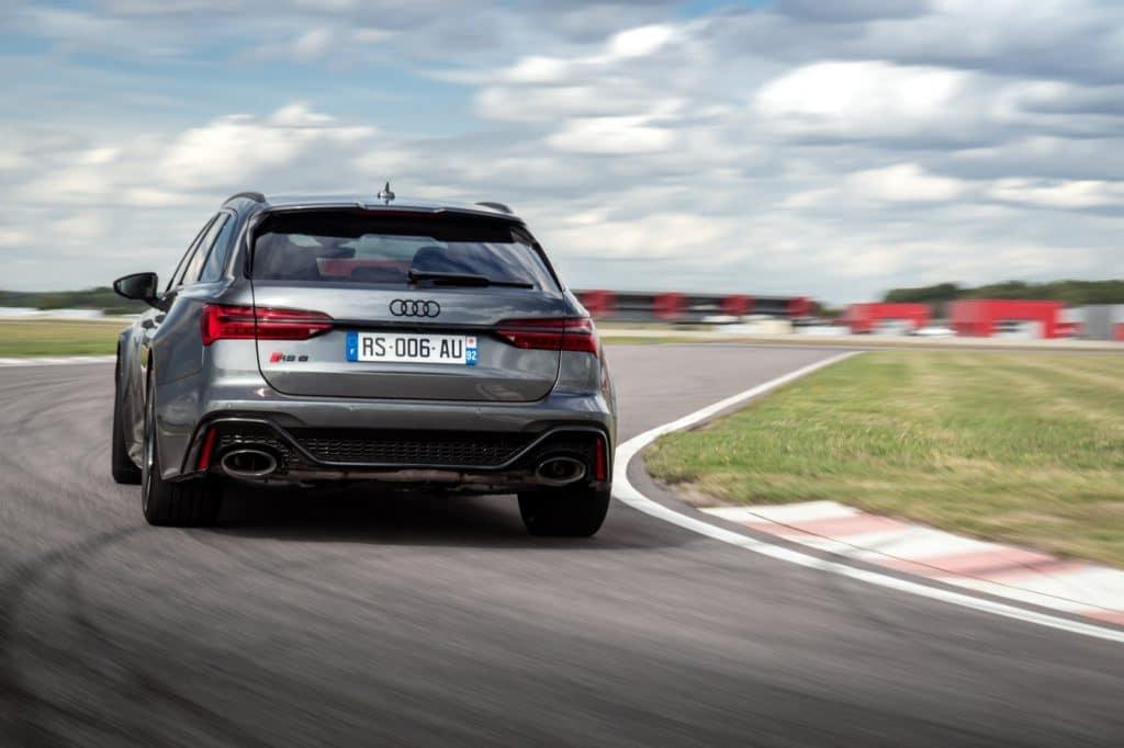 L'Audi RS6 Avant en conduite